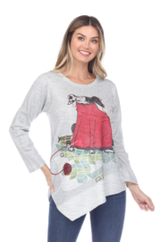 Inoah  Stay Warm Dog Top - Front cropped