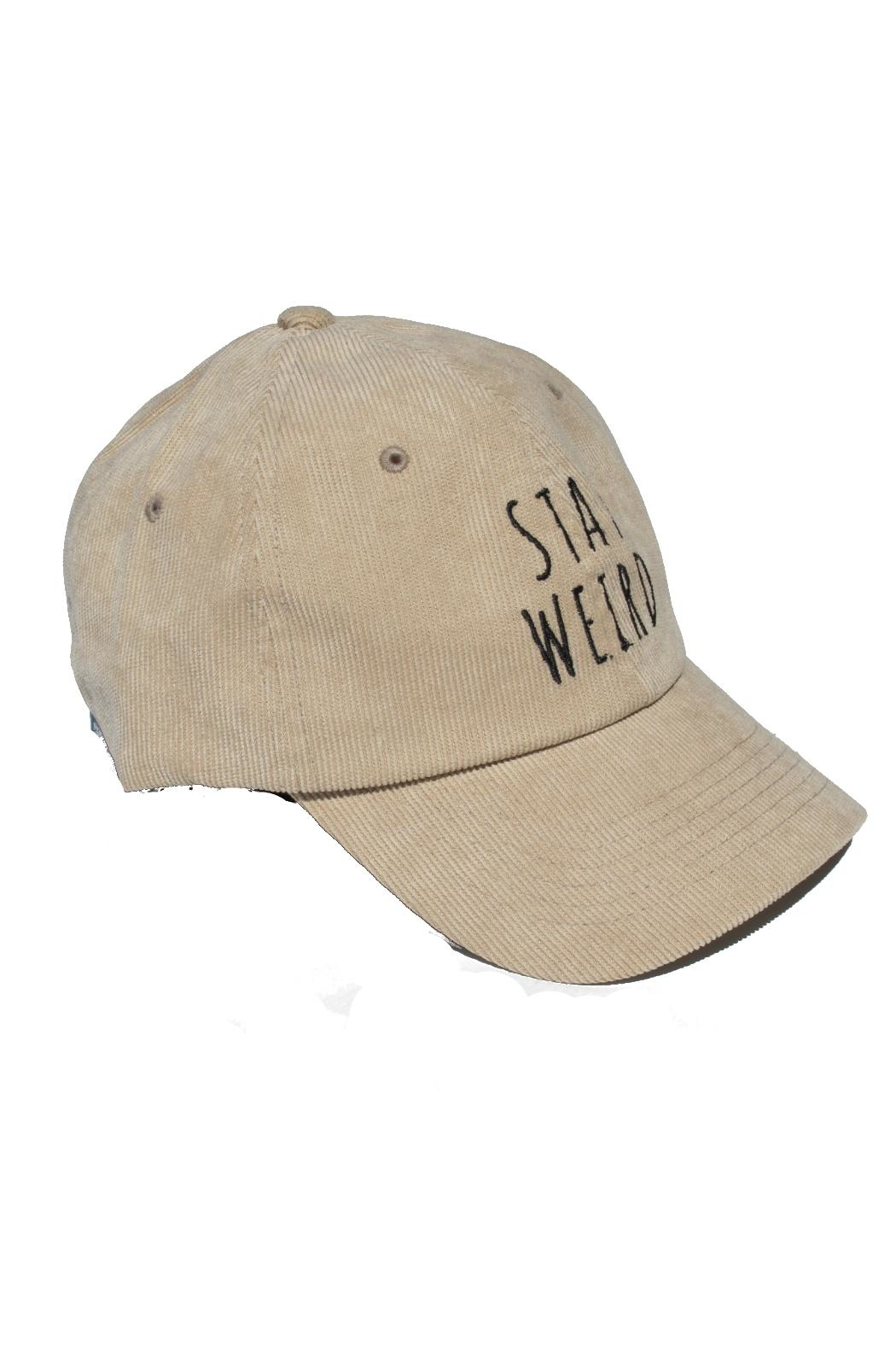 Minx Stay Weird Hat - Front Full Image