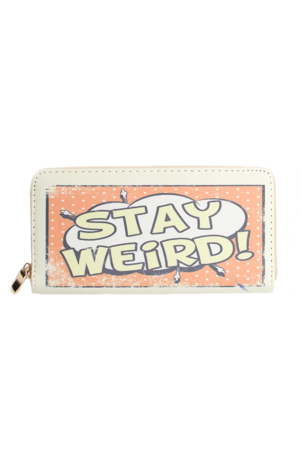 May 23 Stay Weird Wallet - Main Image
