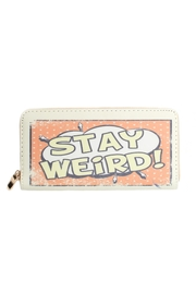 May 23 Stay Weird Wallet - Front cropped