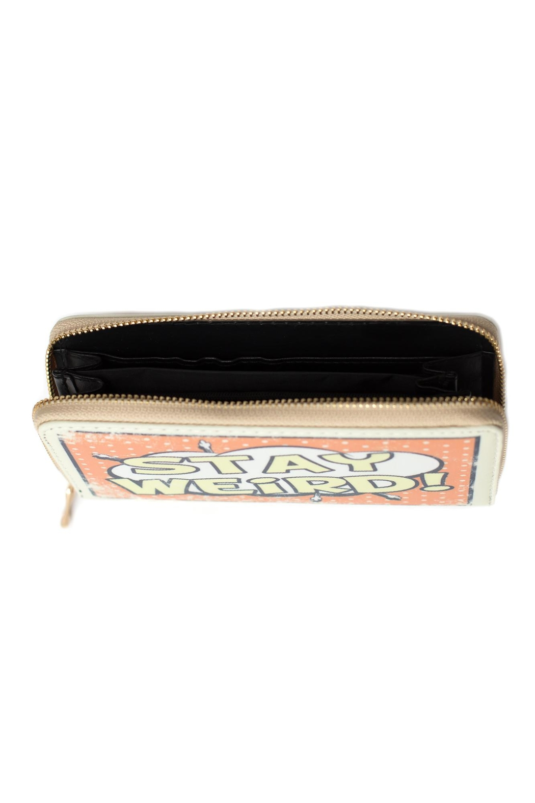 May 23 Stay Weird Wallet - Front Full Image