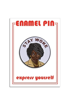 The Found Stay Woke Pin - Product List Image