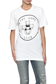 Shoptiques Product: Stay Home Tee - Front cropped