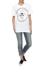 Shoptiques Product: Stay Home Tee - Front full body