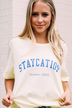Friday + Saturday Staycation Tee - Alternate List Image