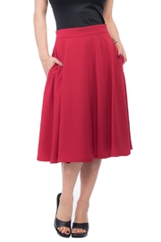 Steady Clothing High-Waist Circle Skirt - Product Mini Image