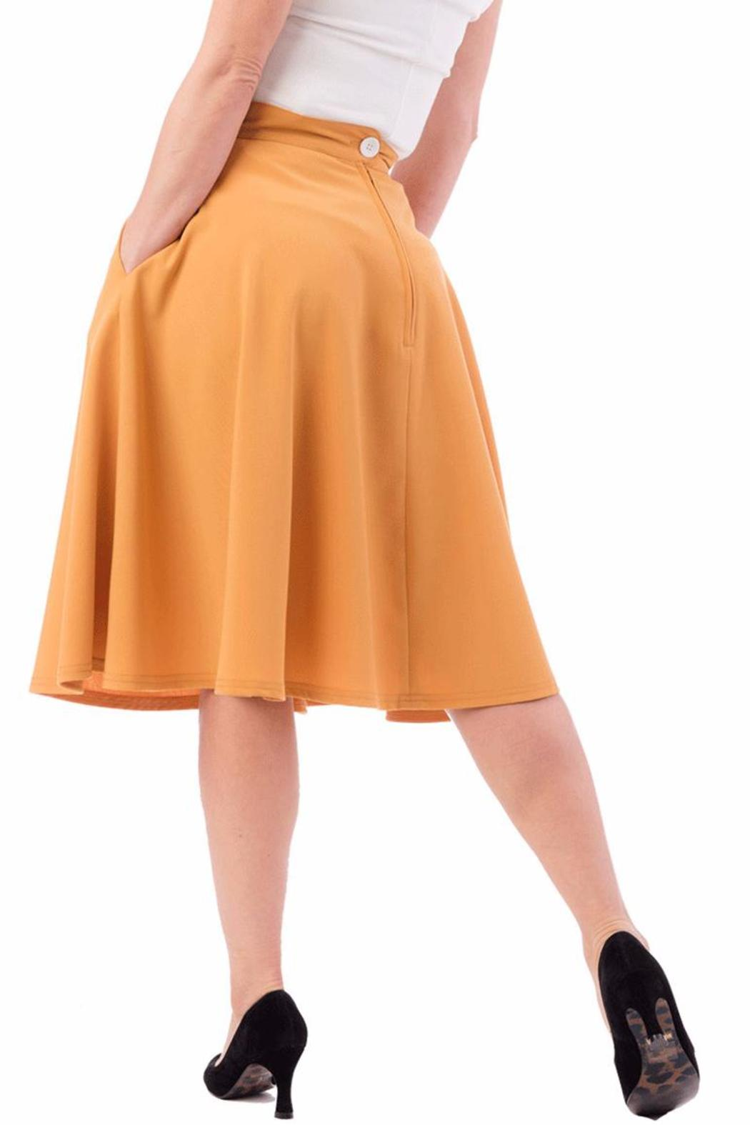 Steady Clothing High-Waist Circle Skirt - Front Full Image