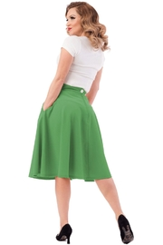 Steady Clothing Pocket Circle Skirt - Front full body