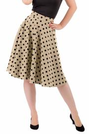 Steady Clothing Polka-Dot Thrills Skirt - Product Mini Image