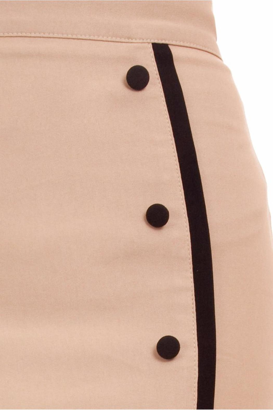 Steady Clothing Sarina Button Skirt - Side Cropped Image