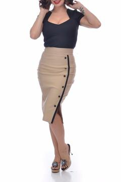 Steady Clothing Sarina Button Skirt - Product List Image