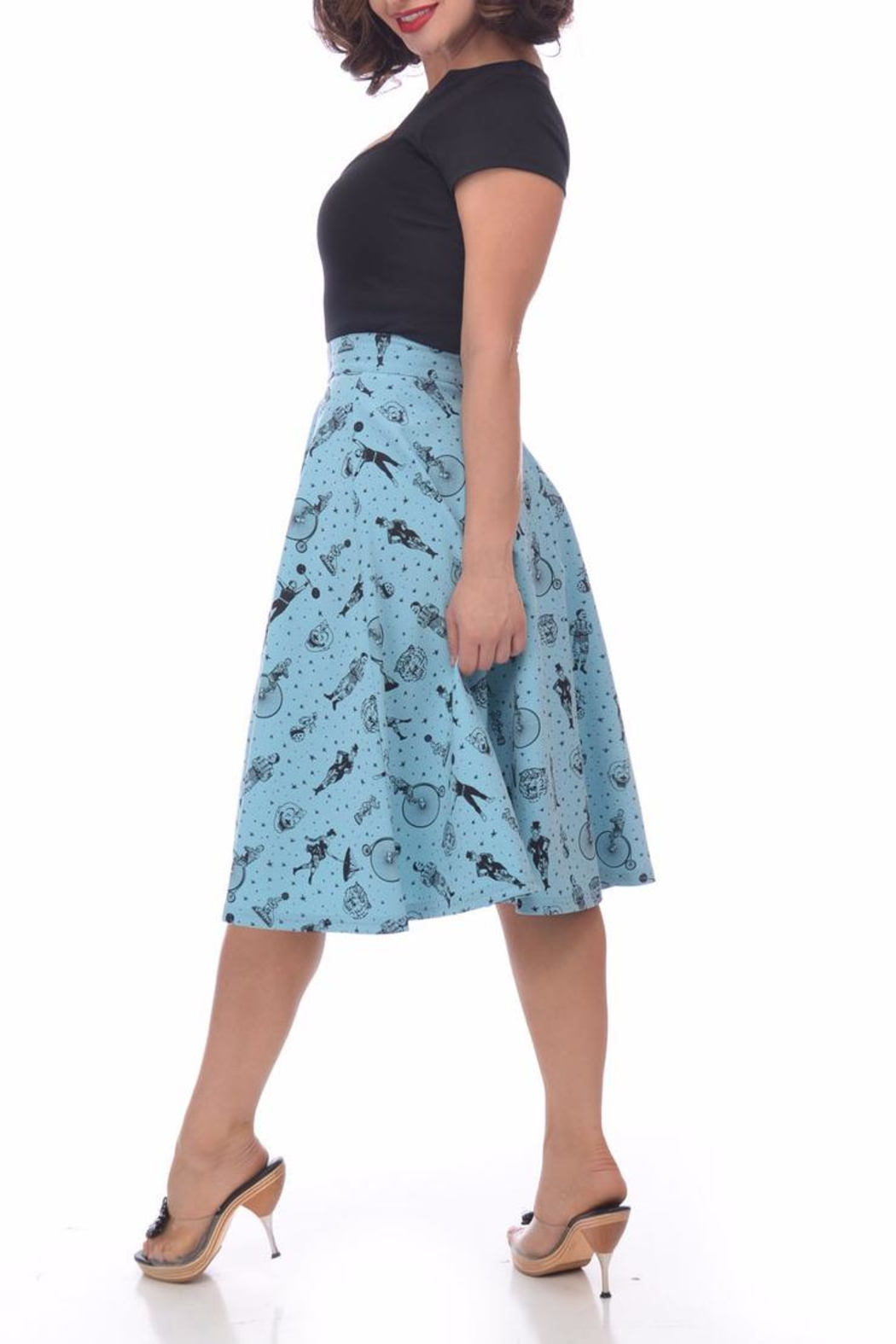 Steady Clothing Strongman Circle Skirt - Front Full Image