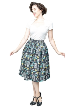 Steady Clothing Tiki Paradise Skirt - Alternate List Image