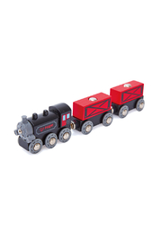 Hape  Steam-Era Freight Train - Front cropped