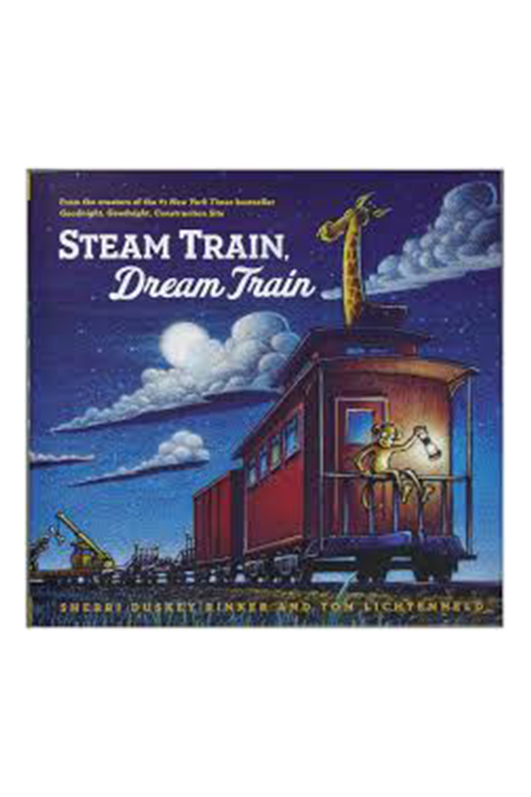 Chronicle Books Steam Train, Dream Train - Front Cropped Image