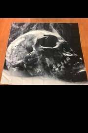New Mix Steaming Skull Tapestry - Product Mini Image