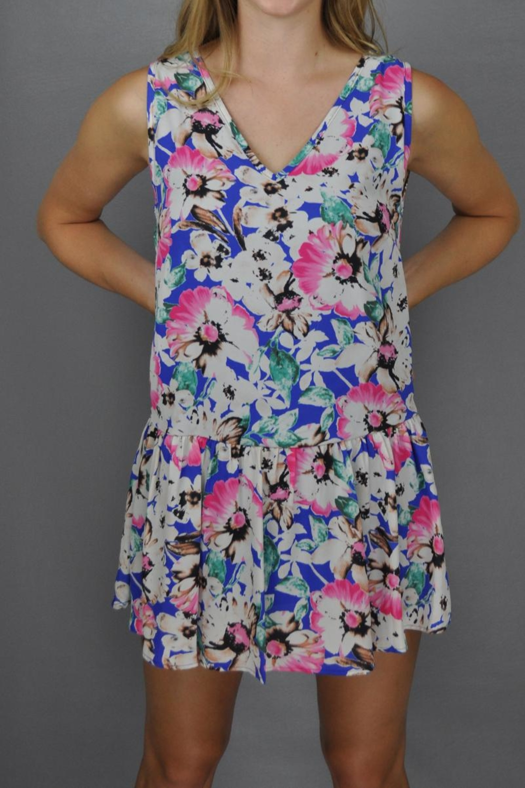 Steezyer Floral Frenzy Dress - Main Image