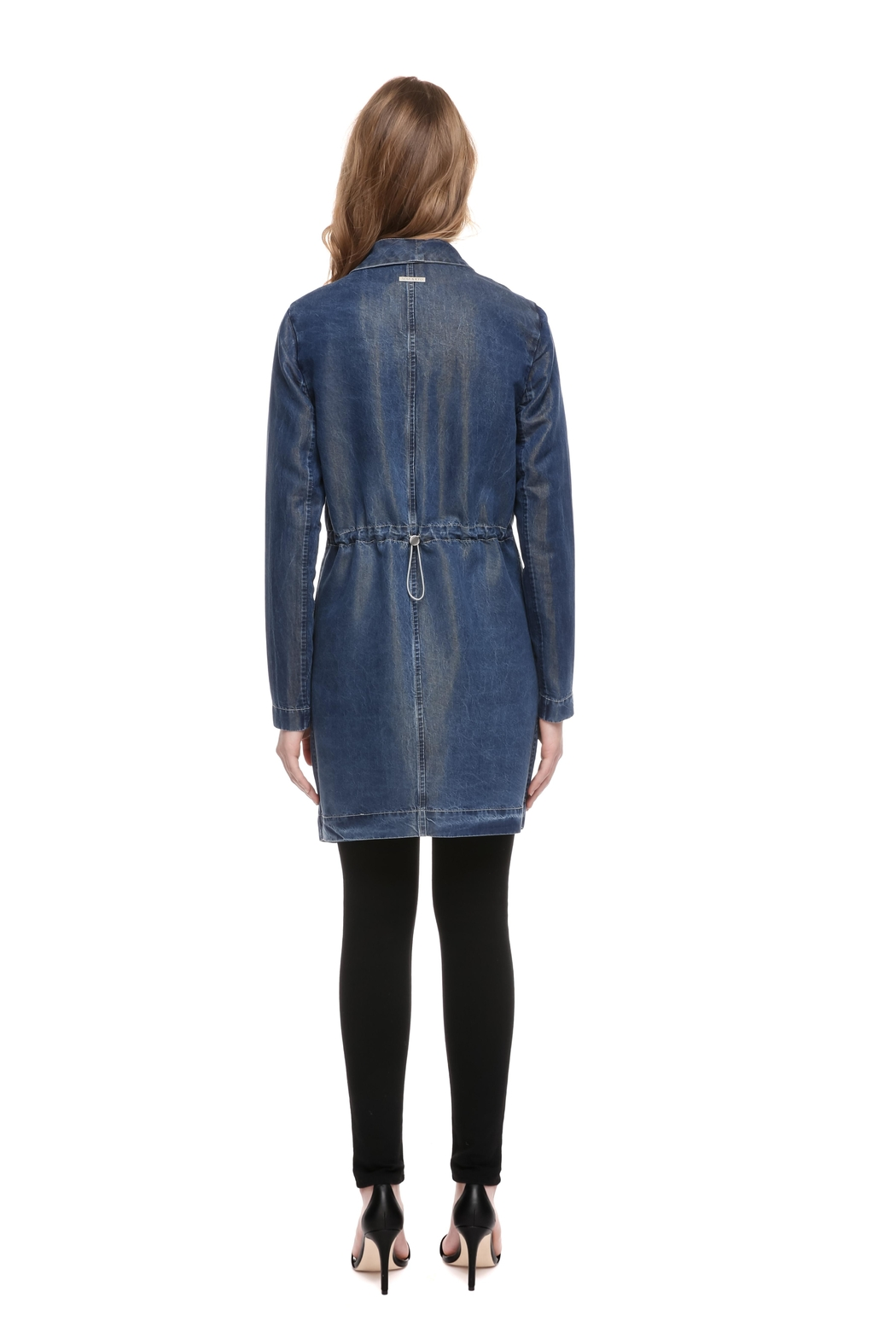 Soia & Kyo Stefie Denim Jacket - Back Cropped Image
