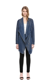 Soia & Kyo Stefie Denim Jacket - Front full body