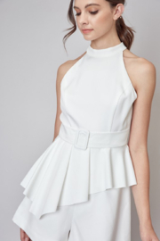Do + Be  Stella Belted Romper - Product Mini Image
