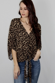 By Together Stella Cheetah Top - Product Mini Image