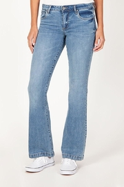 KUT Stella Relaxed-Flare Jeans - Product Mini Image