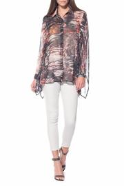 Stella Carakasi Abstract Print Blouse - Product Mini Image