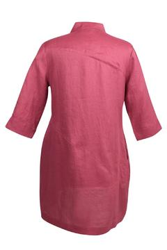 Stella Carakasi Raspberry Linen Tunic - Alternate List Image