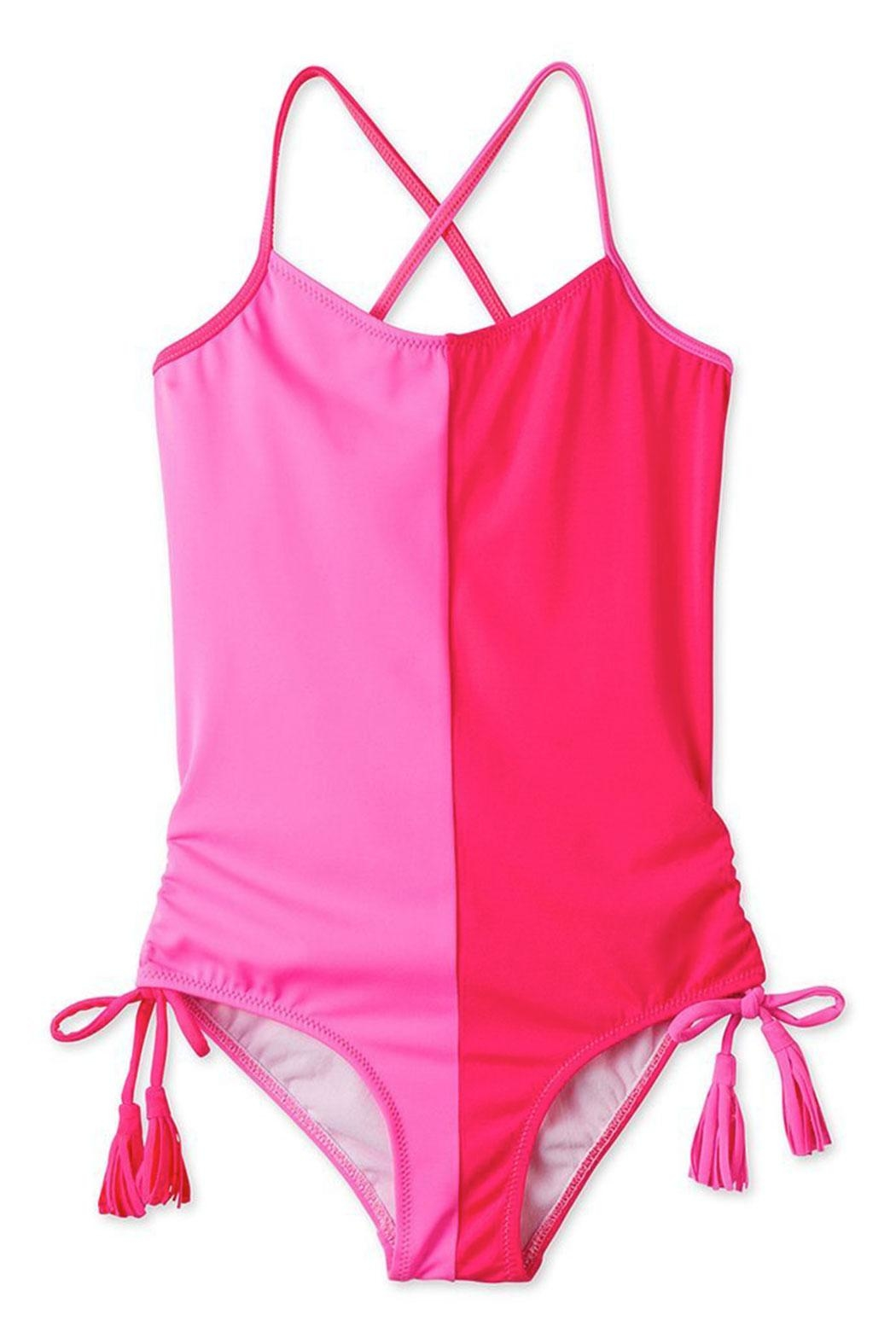 256f62dca4 Stella Cove Hot Pink Tassel Swimsuit from Texas by Bambinos — Shoptiques