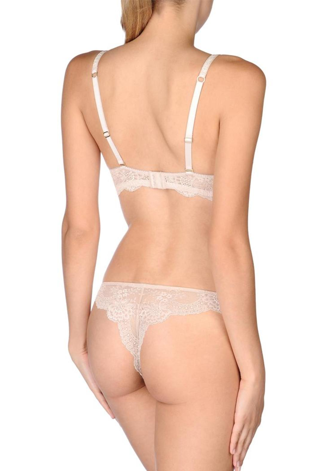 bb8255bb27 Stella McCartney Lingerie Smooth   Lace Strapless Bra - Side Cropped Image