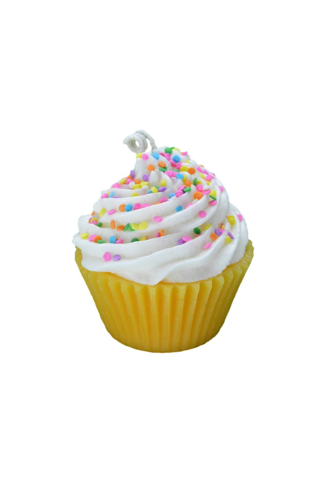 Stella Star Soaps Candles Birthday Cupcake Candle