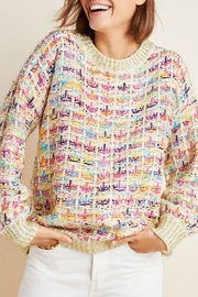Stellah Lurex Mix Sweater - Product Mini Image