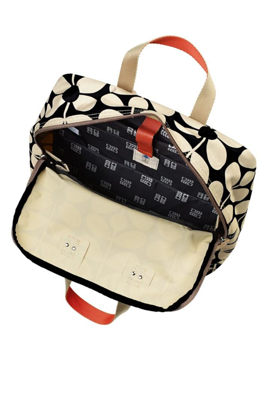 Orla Kiely Stem Nylon Backpack - Front Full Image
