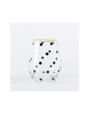 8 Oak Lane Stemless Polka Dot - Product Mini Image