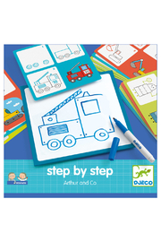 Djeco Step By Step Arthur & Co Drawing Kit - Product Mini Image