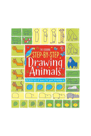 Usborne Step-By-Step Drawing Animals - Front cropped