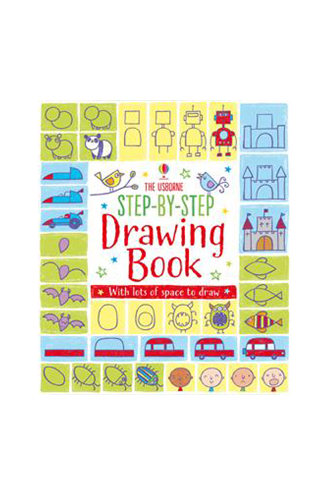 Usborne Step By Step Drawing Book - Main Image