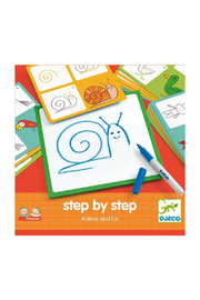 Djeco Step By Step Drawing Kit - Product Mini Image