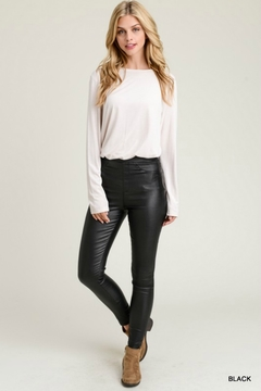 Jodifl STEP UP LEATHER LEGGING - Product List Image