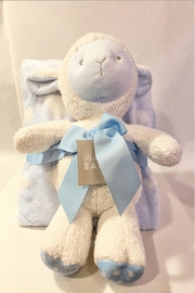 Stephan Baby Blue Lamb Blanket & Plush Set - Product Mini Image