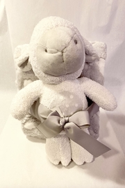 Stephan Baby Grey Lamb Blanket & Plush Set - Product Mini Image