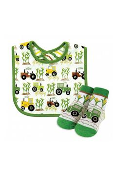 Stephan Baby Tractor Bib & Socks - Alternate List Image