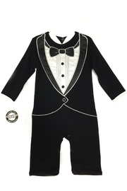 Stephan Baby Tux Long Romper - Product Mini Image