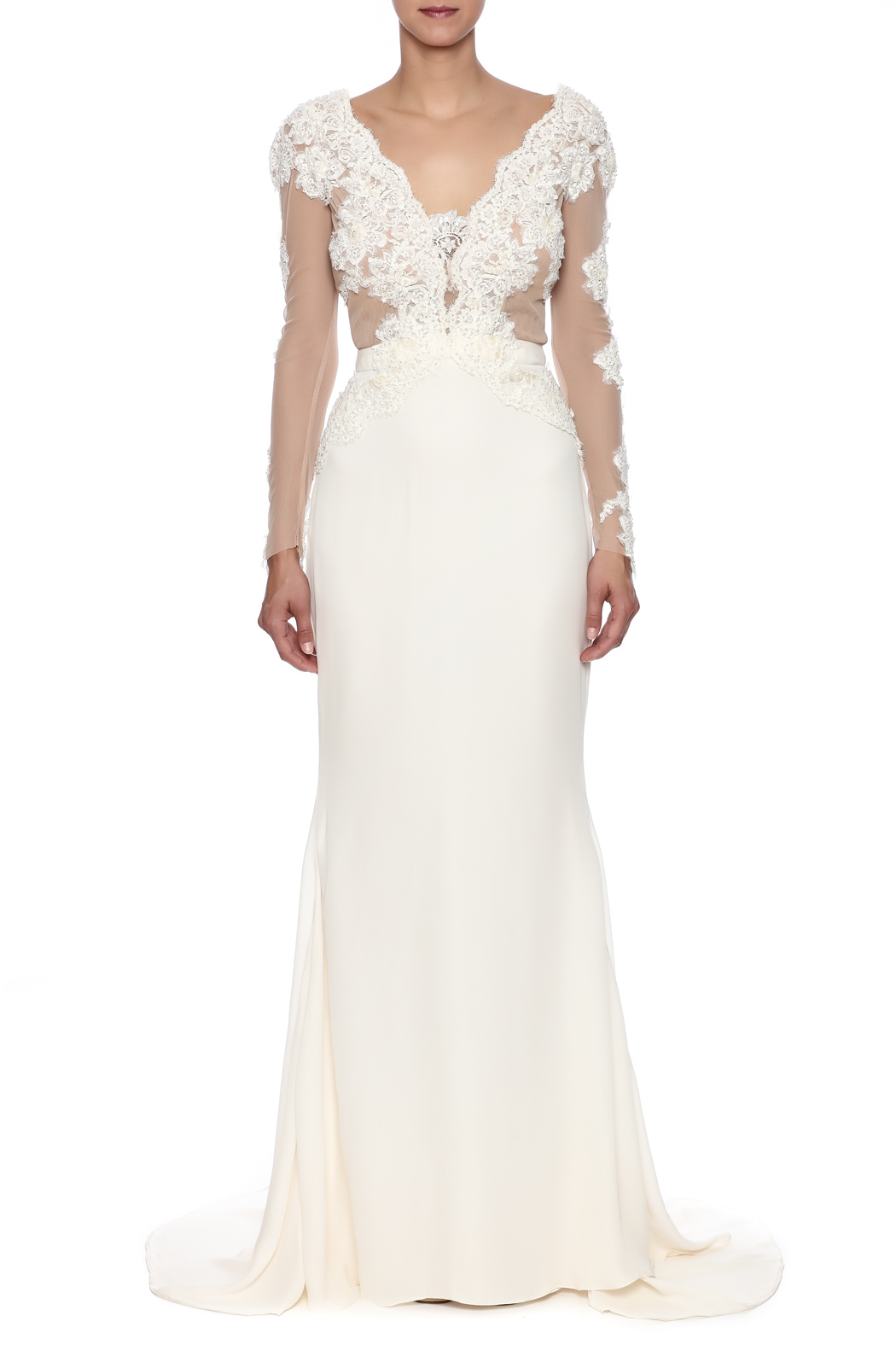 Stephanie D Couture Adeline Gown - Front Cropped Image