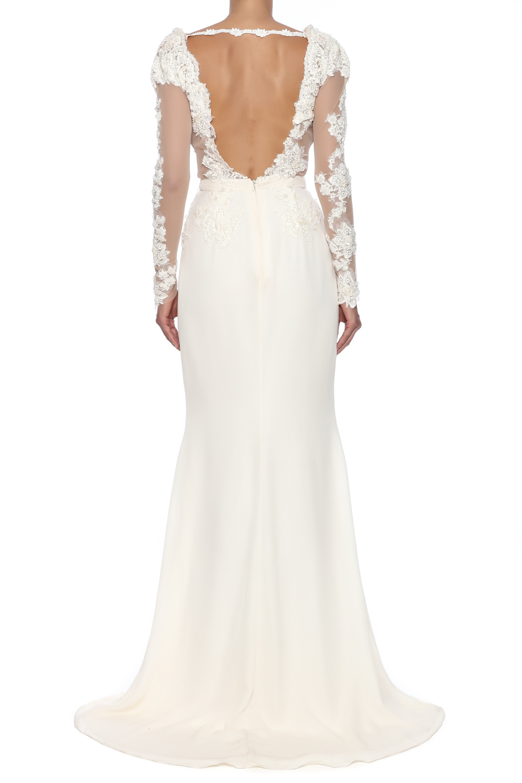 Stephanie D Couture Adeline Gown - Back Cropped Image