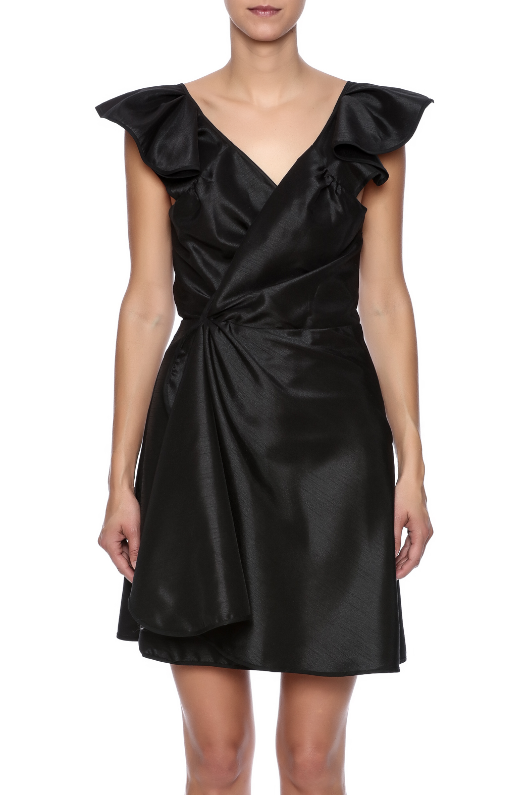 Stephanie D Couture Ava Dress - Side Cropped Image