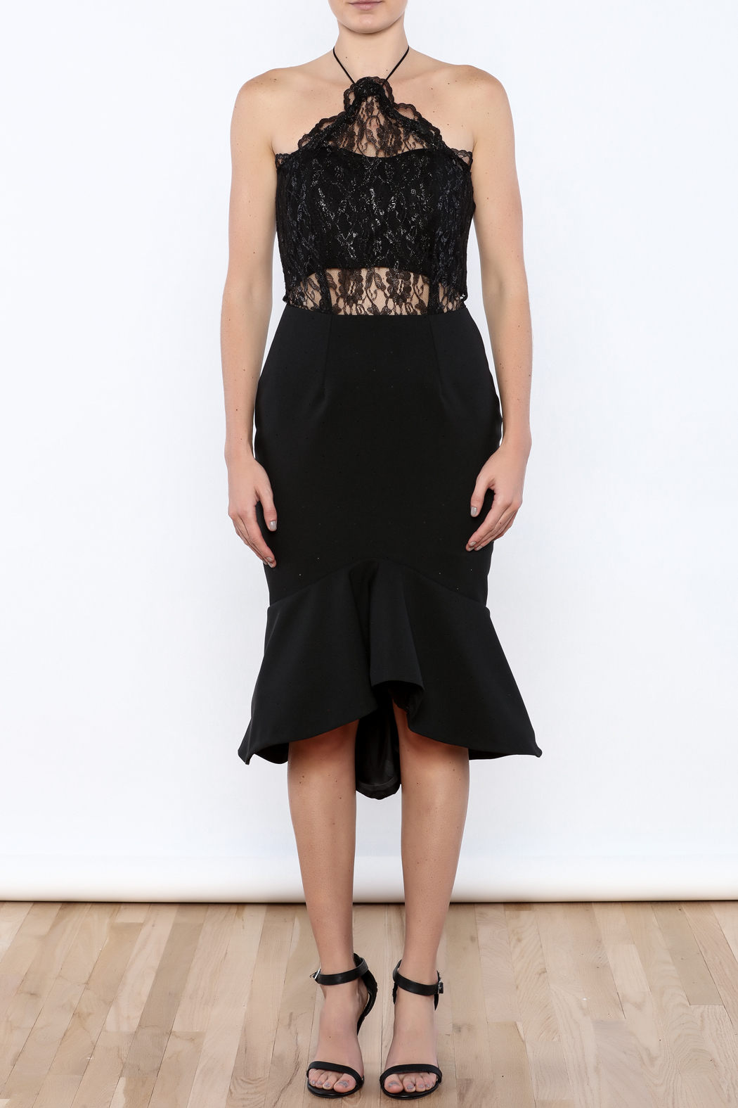 Stephanie D Couture Celine Dress - Front Cropped Image