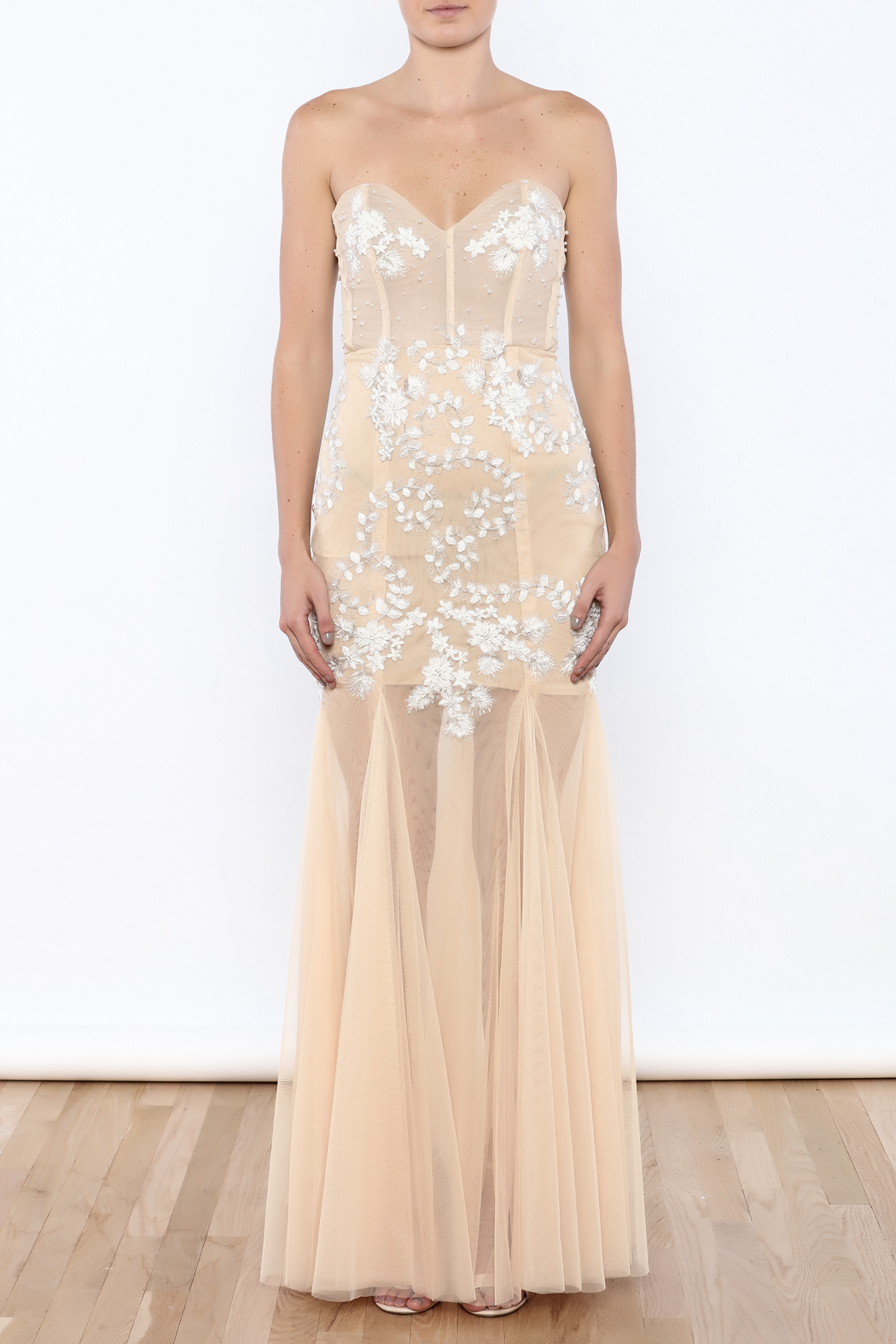 Stephanie D Couture Juliette Gown - Front Cropped Image