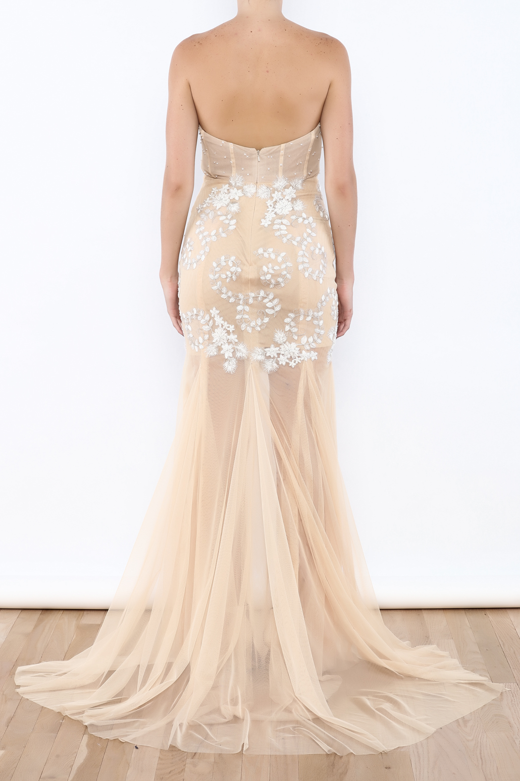 Stephanie D Couture Juliette Gown - Back Cropped Image