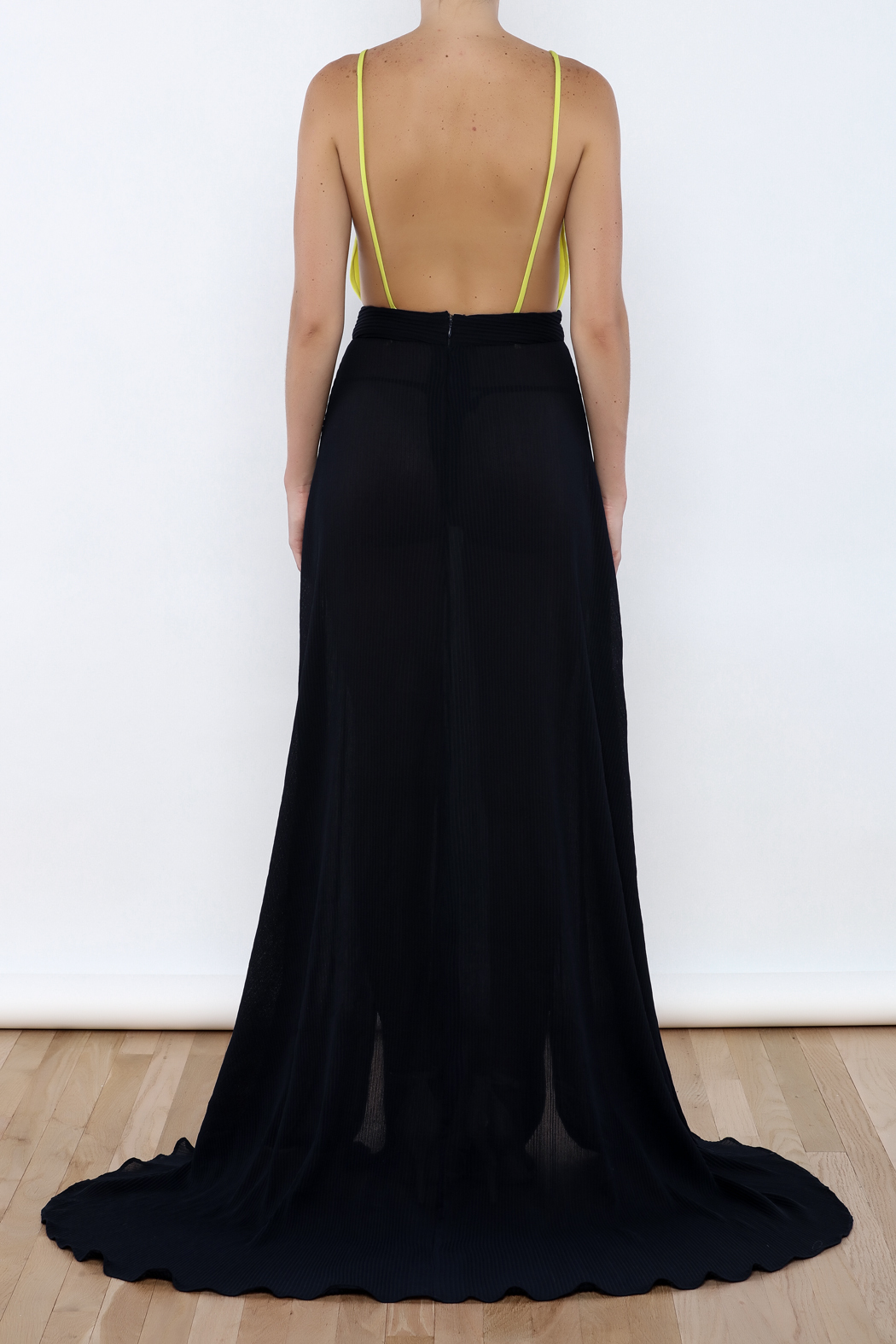 Stephanie D Couture Lily Gown - Back Cropped Image